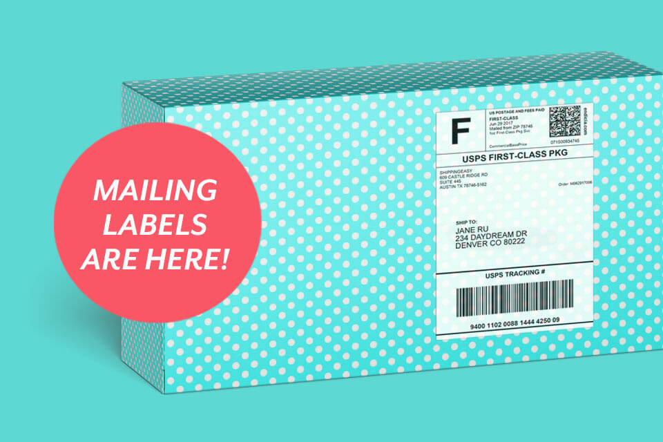 Introducing Mailing Labels